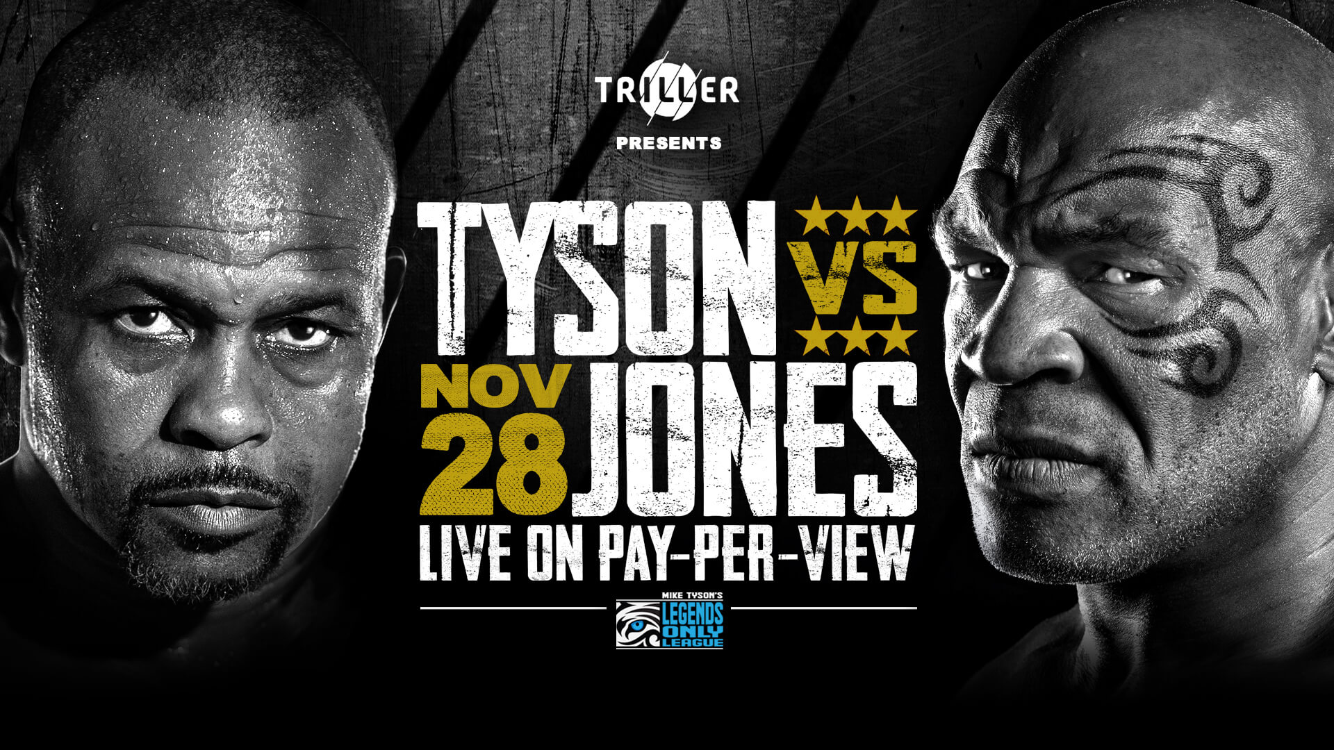 Triller Sets November 28 as New and Official Fight Date for Mike Tyson's Return to the Ring Against Roy Jones Jr. as Event Grows Dramatically in Scope and Size
